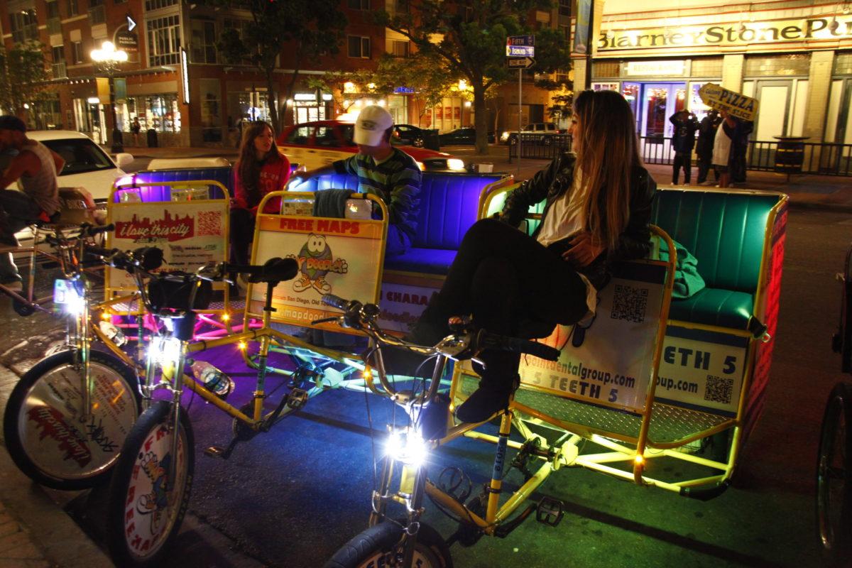 San Diego Bike Taxi Sponsorship