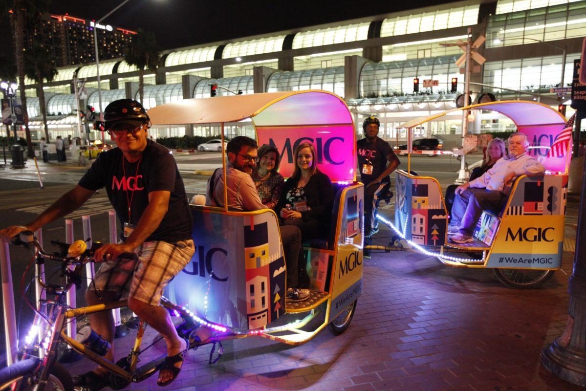 Cox Pedicab Sponsorship