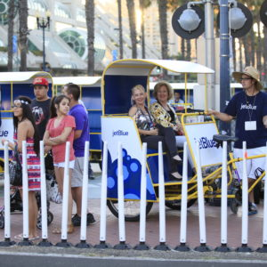 JetBlue Pedicabs
