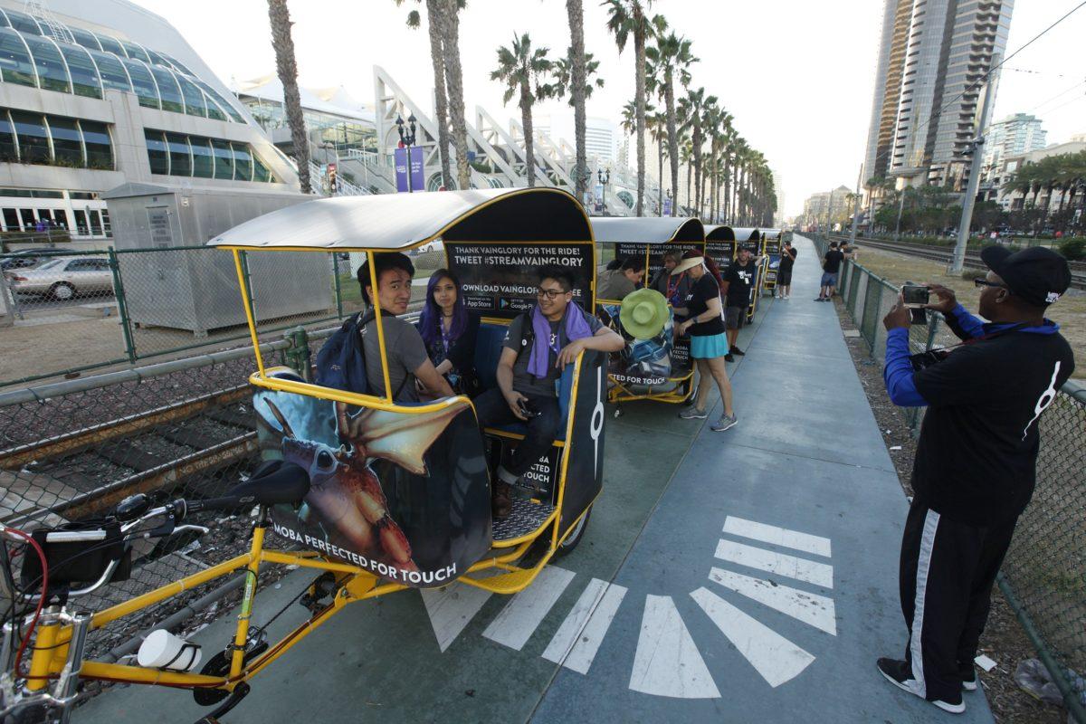 vaingGLORY Pedicab Sponsorship