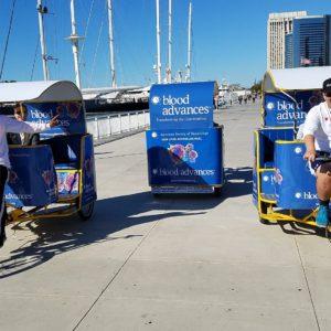 58th ASH Annual Meeting Pedicabs