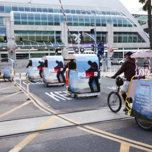 Distributech 2017 Convention Pedicabs