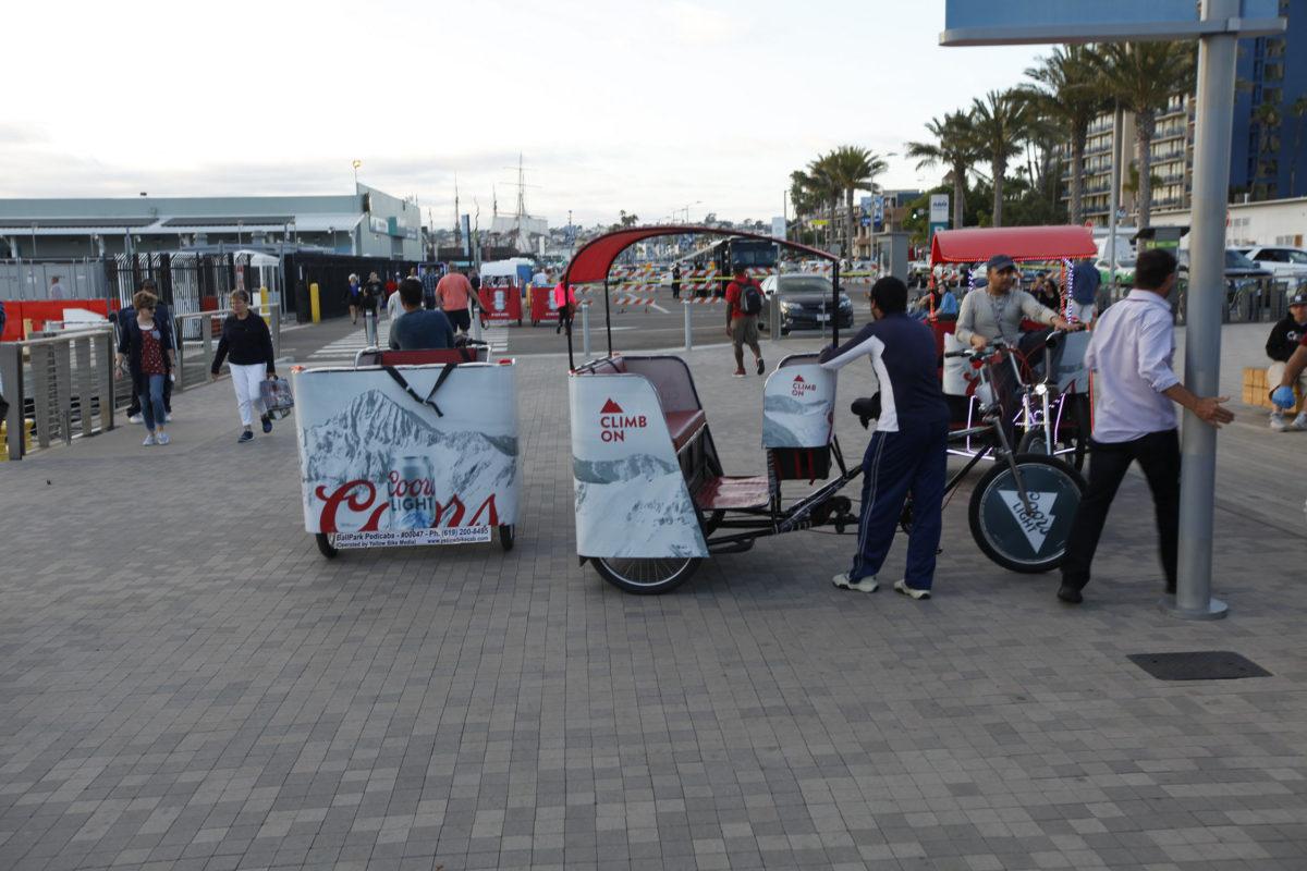 coorslight pedicab